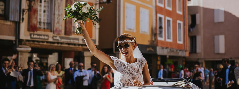 Sourire Mariée en Provence
