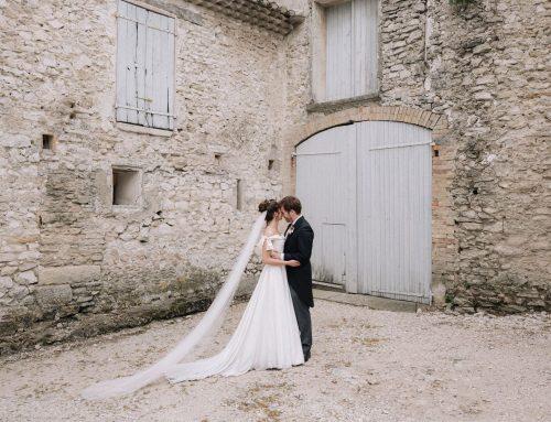 Constance & Andrew – Mariage intime à Saumane de Vaucluse